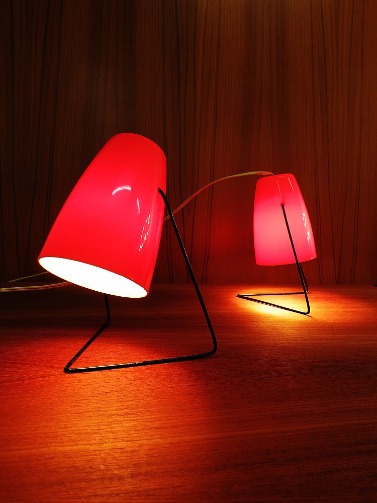 2 MID CENTURY TABLE LAMPS