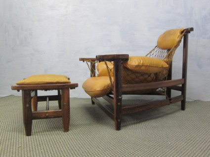 JEAN GILLON CAPTAIN CHAIR WOOD ART