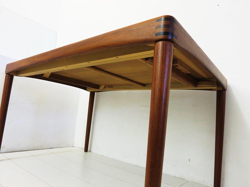 esszimmergruppe in teak tisch und 4 st hle design hw klein. Black Bedroom Furniture Sets. Home Design Ideas