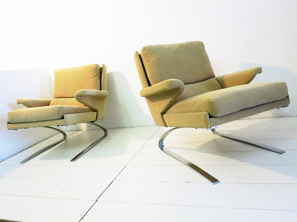 4 Cor Swing Sessel Design Reinhold Adolf Plutoraker