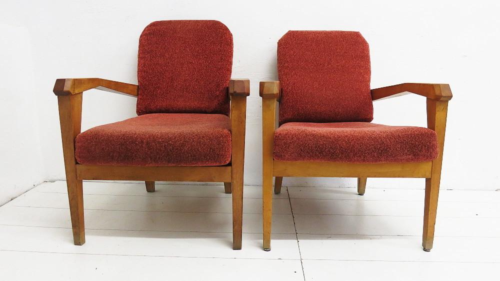 anthroposophische sitzgruppe 2 sessel 1 couchtisch 30er 50er jahre plutoraker. Black Bedroom Furniture Sets. Home Design Ideas