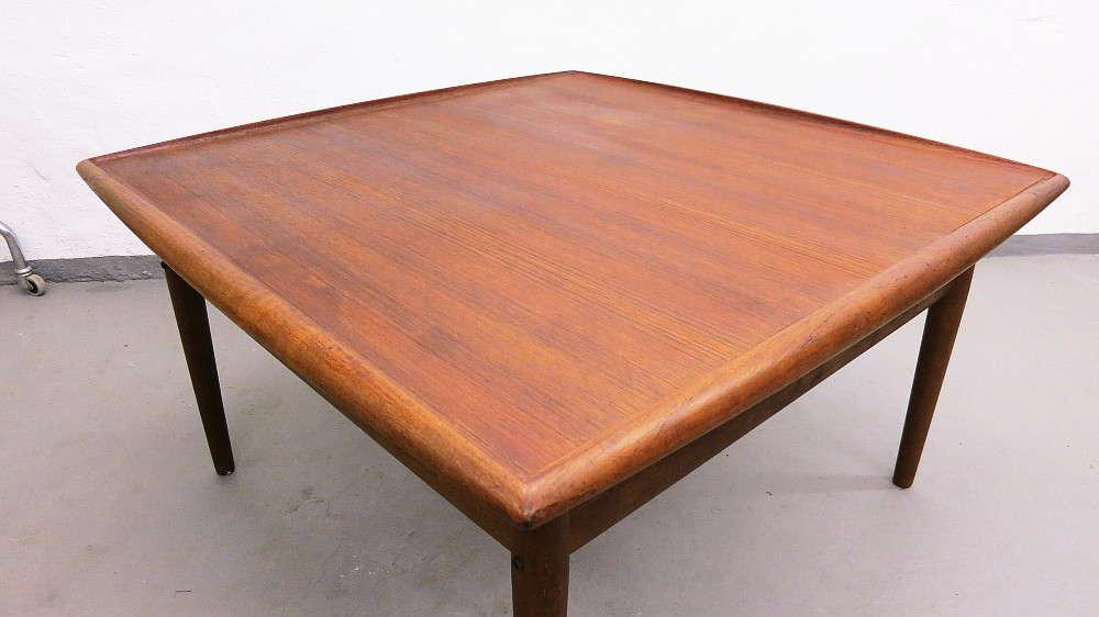 Xxl Teak Coffee Table Design Grete Jalk For Glostrup Plutoraker