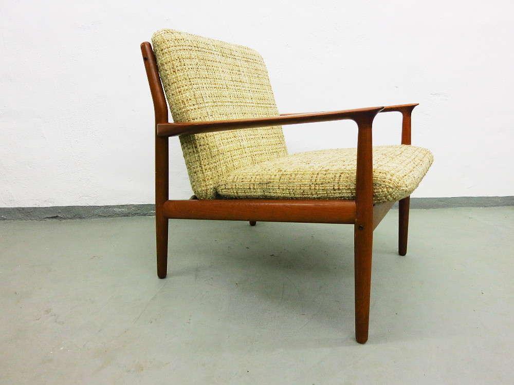 Teak Lounge Chair Design Grete Jalk For Glostrup Plutoraker