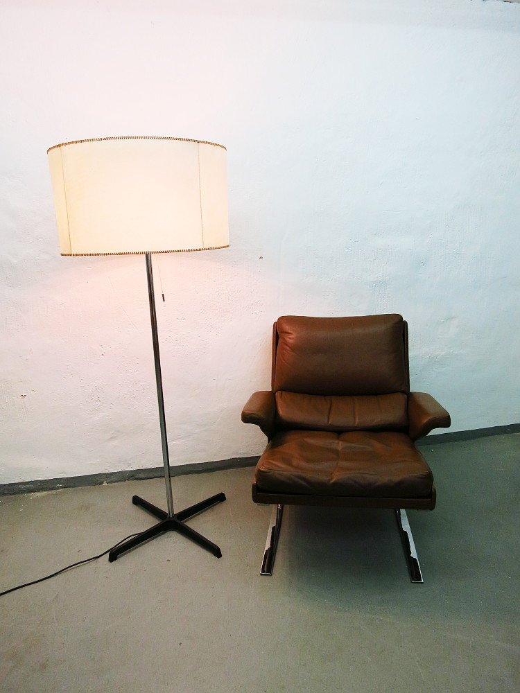 Italian Mid Century Floor Lamp Adjustable In Height