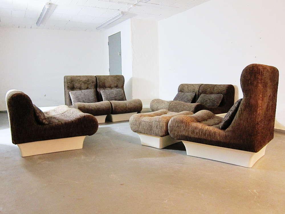 Modulare Sitzgruppe Wohnlandschaft Design Otto Zapf Modell ...