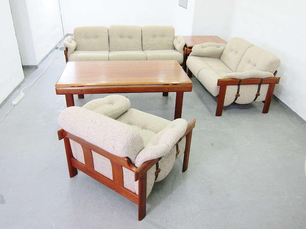 Sitzgruppen Wohnzimmer, wohnzimmer sitzgruppe in teak h.w.klein für bramin - plutoraker, Design ideen