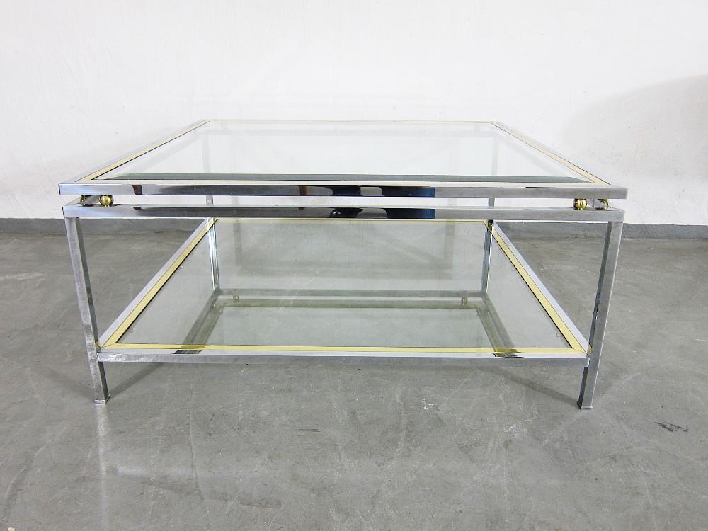 Couchtisch Glas 2 Ebenen