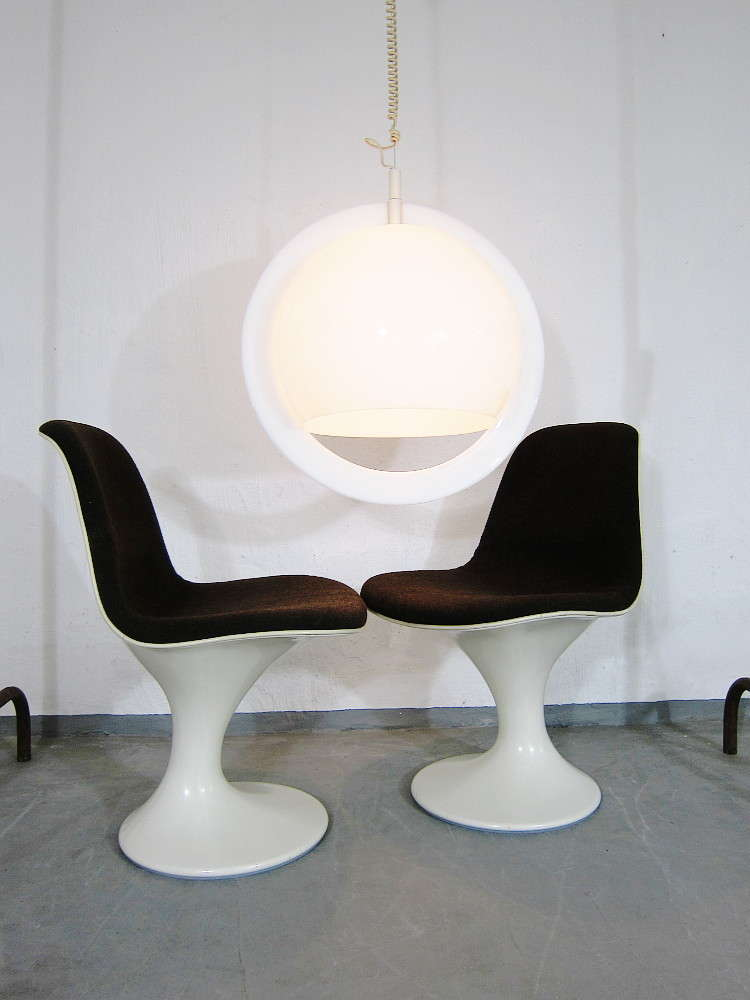Giant Bubble Pendant Lamp 60s 70s Space Age