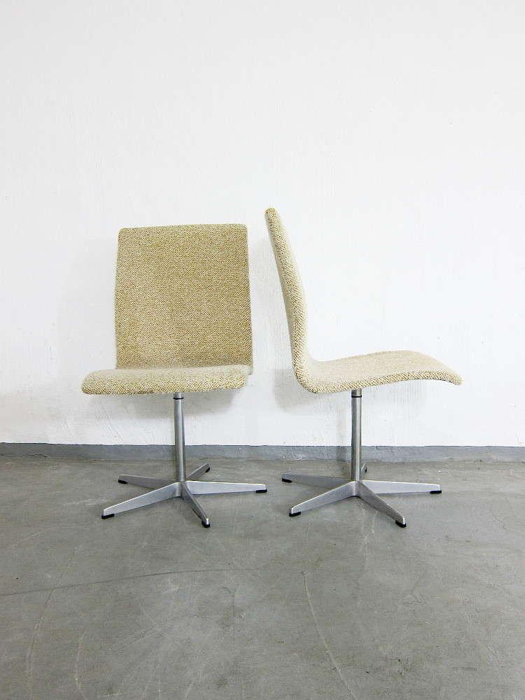 Arne Jacobsen 2 Oxford Chairs For Fritz Hansen & Arne Jacobsen 2 Oxford Chairs For Fritz Hansen - plutoraker
