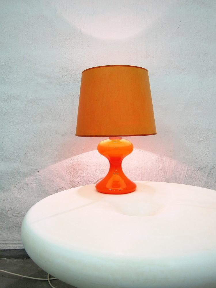 Ingo Maurer ML1 Table Lamp Orange
