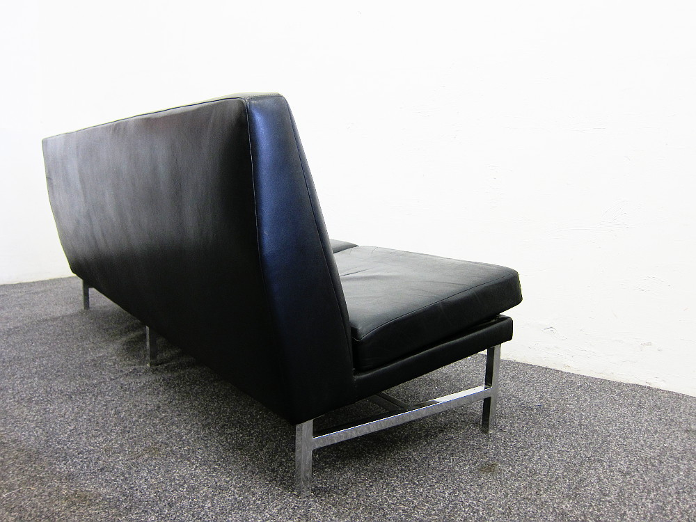 Thonet Threeseater Leather Sofa from the 60s