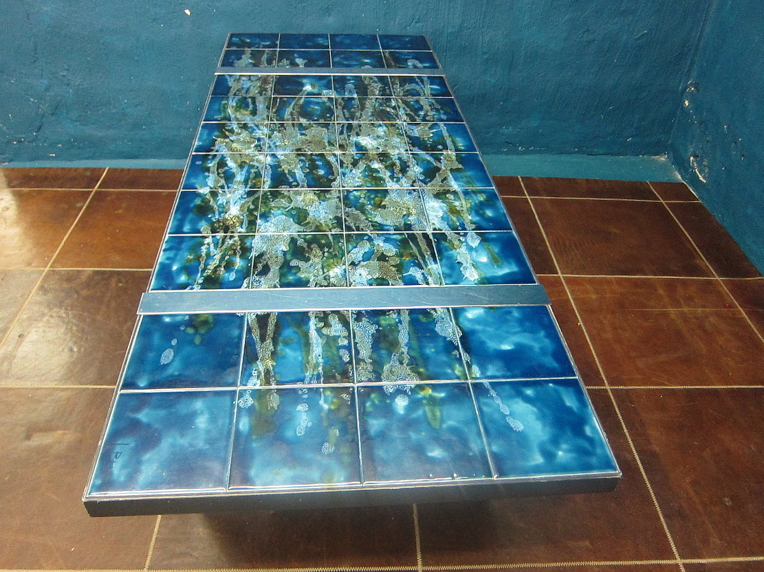 Belarti Tile Coffee Table from the 1960s -70s